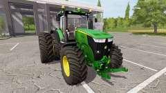 John Deere 7310R v1.4 für Farming Simulator 2017