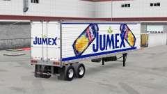 Jumex de la peau sur le reefer remorque pour American Truck Simulator