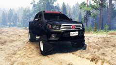 Toyota Hilux Double Cab 2016 pour Spin Tires