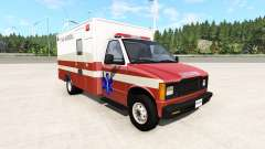 Gavril H-Series San Andreas Ambulance v0.1 für BeamNG Drive