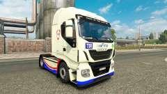 La peau de la FINA sur le camion Iveco Hi-Way pour Euro Truck Simulator 2