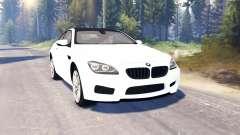 BMW M6 (F13) v2.0 für Spin Tires