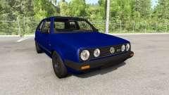 Volkswagen Golf Mk2 GTI 1987 update für BeamNG Drive