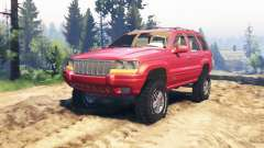 Jeep Grand Cherokee (WJ) v2.0 pour Spin Tires