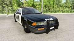 Gavril Grand Marshall San Andreas Police für BeamNG Drive