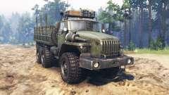 Ural-4320-31 für Spin Tires