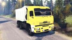 KamAZ-65111 v1.5 pour Spin Tires