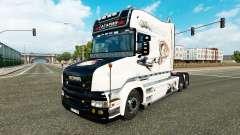 Gagarin Haut für LKW Scania T für Euro Truck Simulator 2
