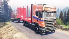 Scania R620 v3.0 für Spin Tires