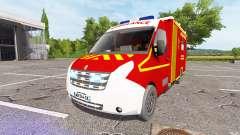 Renault Master Ambulance v2.0 pour Farming Simulator 2017