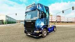 L'Ange bleu de la peau pour Scania camion pour Euro Truck Simulator 2