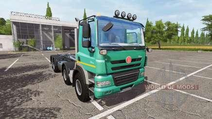 Tatra Phoenix T158 8x8 container pour Farming Simulator 2017