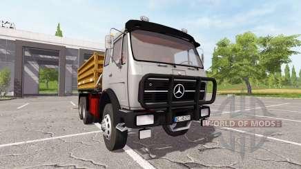 Mercedes-Benz NG 1632 tipper pour Farming Simulator 2017