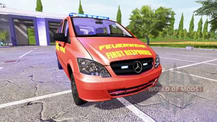 Mercedes-Benz Viano FR pour Farming Simulator 2017
