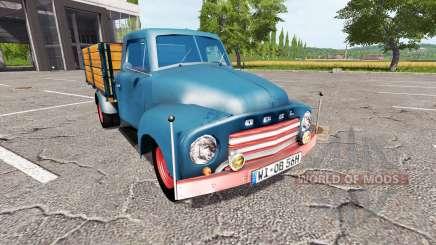 Opel Blitz 1956 pour Farming Simulator 2017