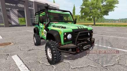 Land Rover Defender 90 Dakar v2.0 pour Farming Simulator 2017