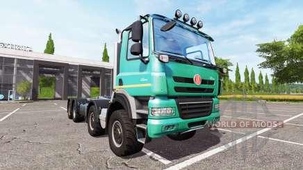 Tatra Phoenix T158 8x8 v1.1 pour Farming Simulator 2017
