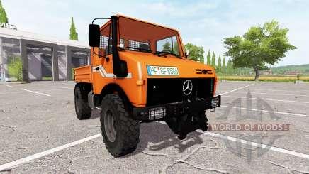 Mercedes-Benz Unimog U1600 für Farming Simulator 2017