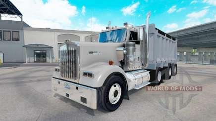 Kenworth W900 dump pour American Truck Simulator