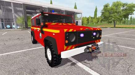 Land Rover Defender 110 feuerwehr für Farming Simulator 2017