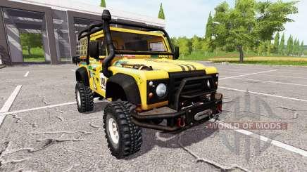 Land Rover Defender 90 Dakar pour Farming Simulator 2017
