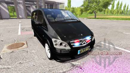 Mercedes-Benz Viano diplomatic corps v1.1 pour Farming Simulator 2017