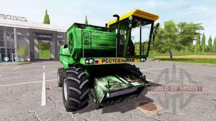 Rostselmash n'-1500B pour Farming Simulator 2017