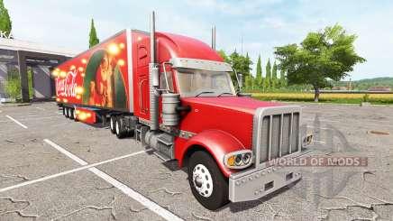 Lizard TX 415 Barrelcore Coca-Cola pour Farming Simulator 2017