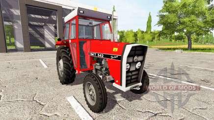 IMT 542 DeLuxe novi tip pour Farming Simulator 2017