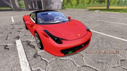 Ferrari 458 Italia für Farming Simulator 2017
