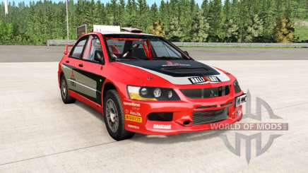 Mitsubishi Lancer Evolution IX 2006 remaster für BeamNG Drive