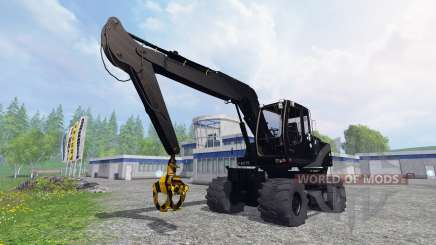 Liebherr A900C black edition pour Farming Simulator 2015