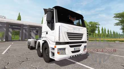 Iveco Stralis 8x8 cointainer pour Farming Simulator 2017