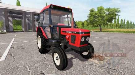 Zetor 7711 pour Farming Simulator 2017