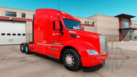 Haut C. R. England für einen LKW Peterbilt 579 für American Truck Simulator