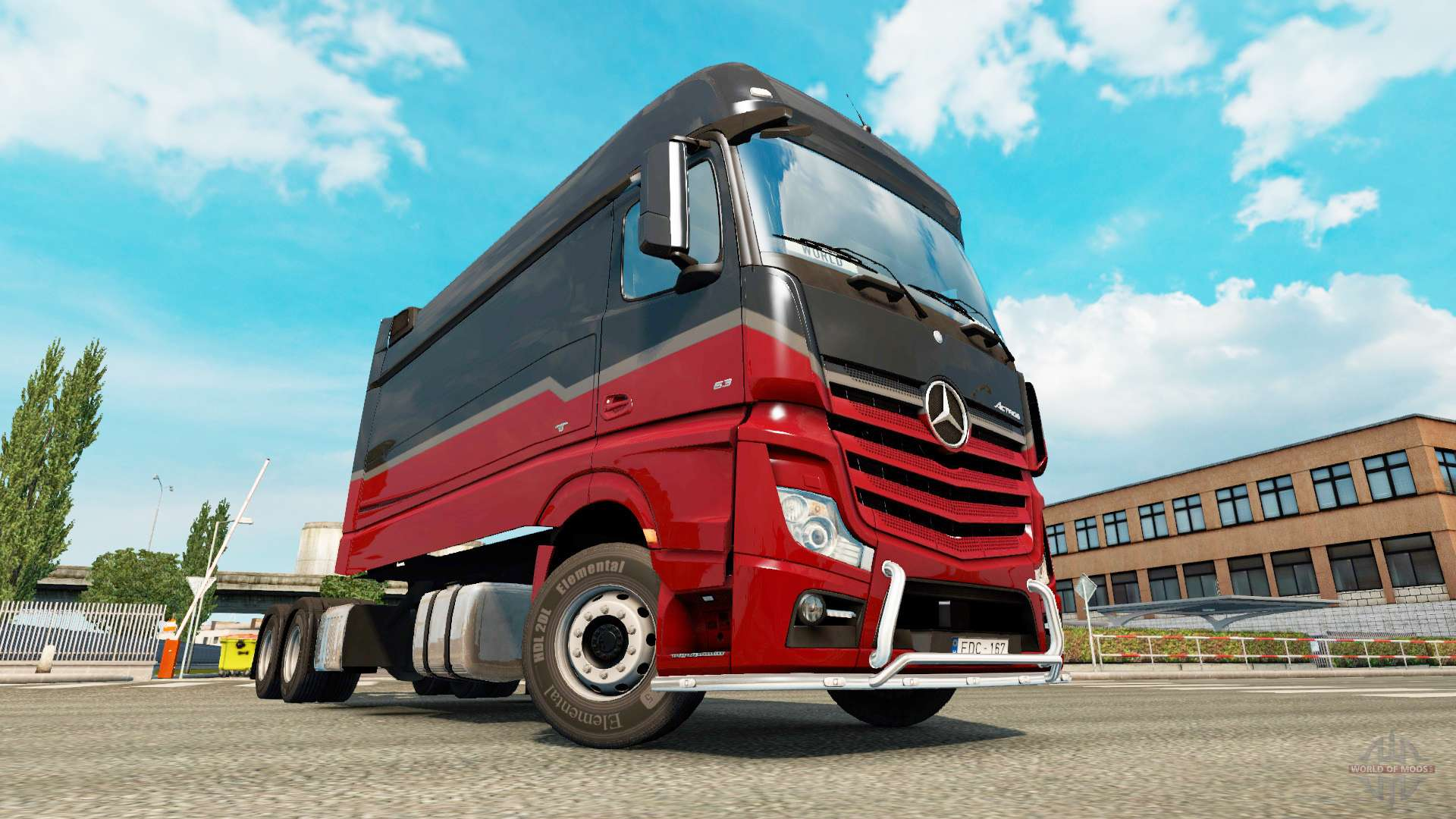 mercedes benz actros mp4 longline pour euro truck simulator 2. Black Bedroom Furniture Sets. Home Design Ideas