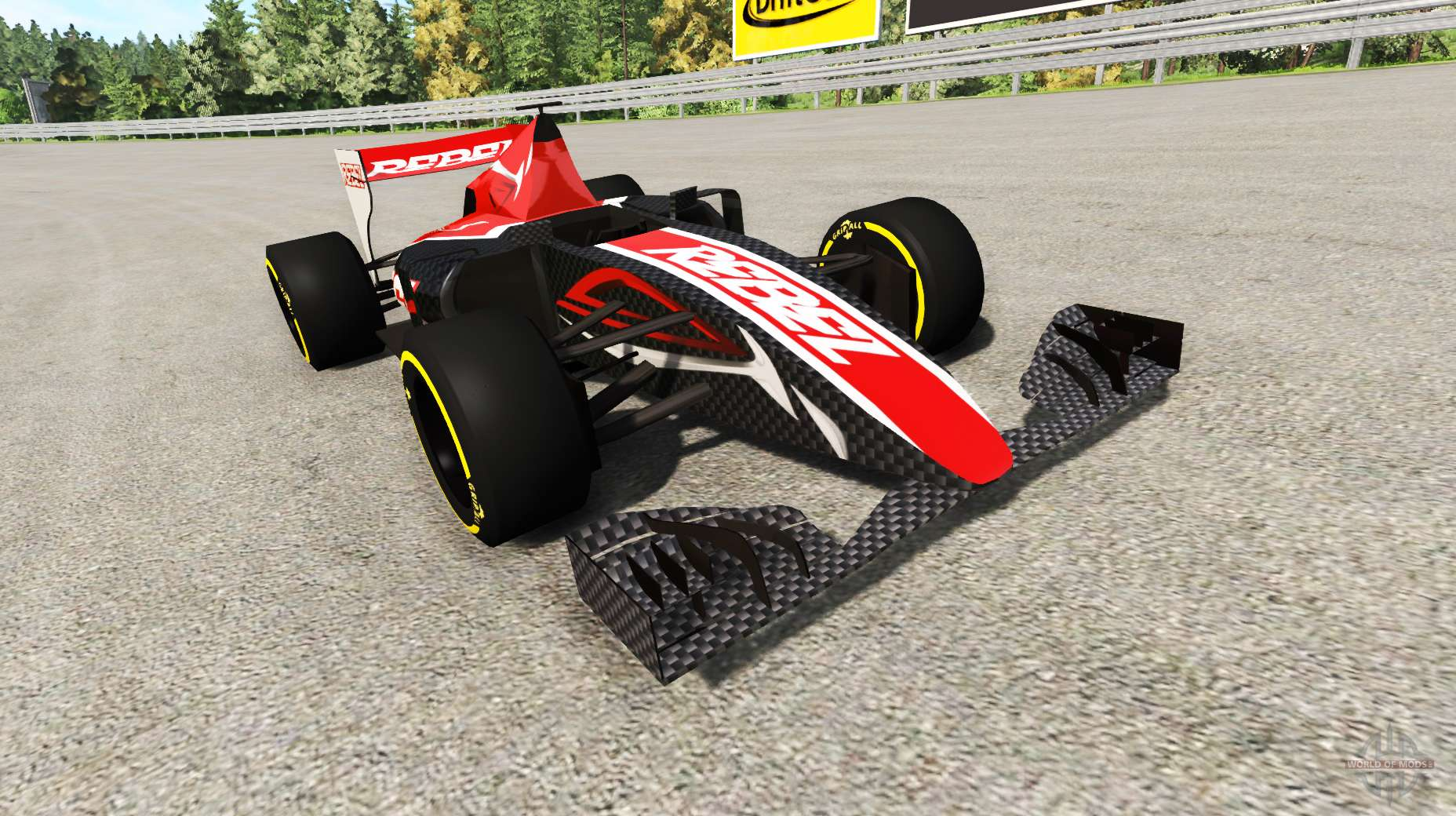 la formule 1 voiture de course v2 0 pour beamng drive. Black Bedroom Furniture Sets. Home Design Ideas