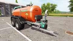 Zunhammer SKE 18.5 PUD brown edition pour Farming Simulator 2017
