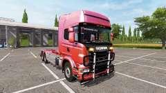 Scania R730 hooklift