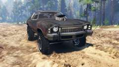 Chevrolet Monte Carlo 1973 Mad Max pour Spin Tires