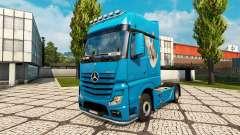 Haut Dove für Traktor Mercedes-Benz
