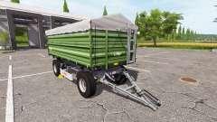 Fliegl DK 180-88 ciemna pour Farming Simulator 2017