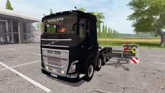 Volvo FH 10x10 three fifth-wheel coupling v2.01