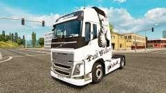 Paul Walker peau pour Volvo camion