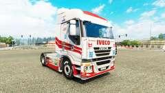 La peau de Luis Lopez sur le camion Iveco pour Euro Truck Simulator 2