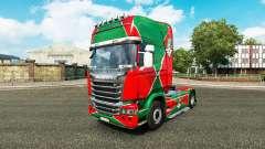 La peau de la locomotive v2.0 camion Scania