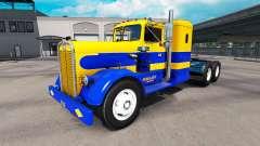 Haut Oakley auf Traktor Kenworth 521
