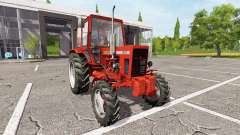 MTZ-82 Belarus v1.2 für Farming Simulator 2017