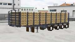 Un camion semi-remorque Manac
