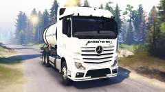 Mercedes-Benz Actros MP4 v2.0 für Spin Tires